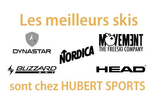 Les meilleurs skis de location sont chez Hubert
