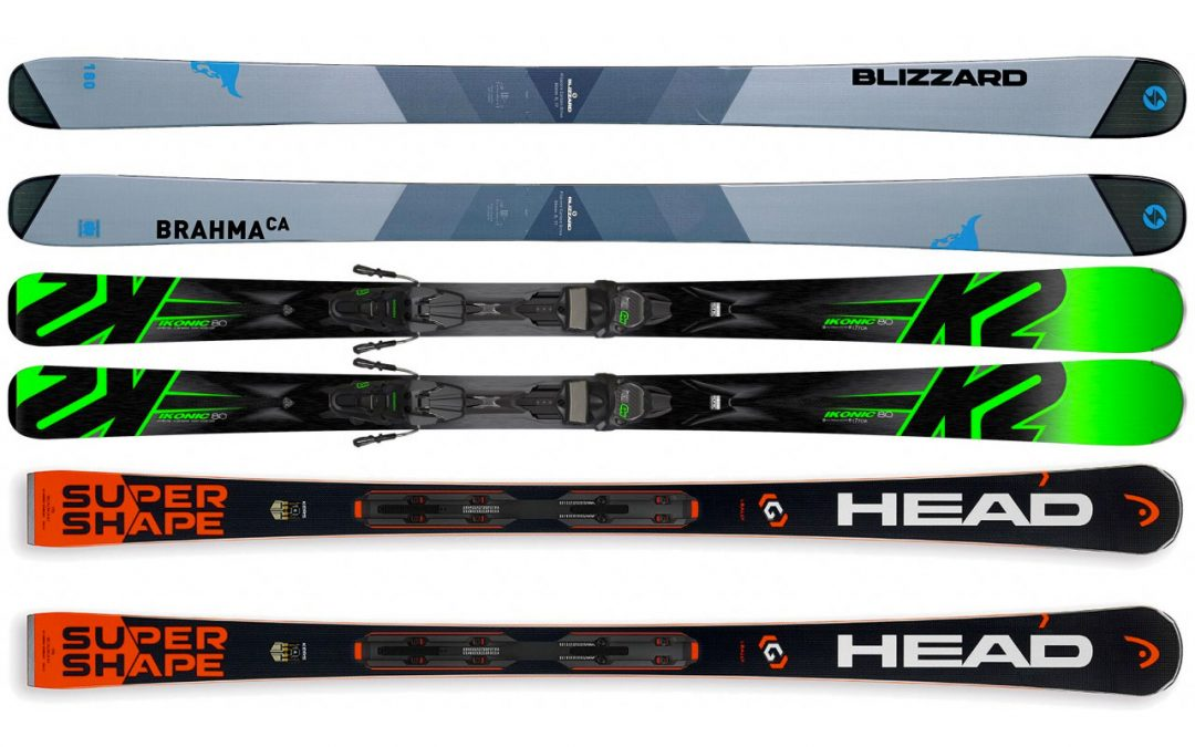 New sales area and new skis 2017/2018